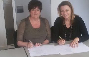 ondertekening contract